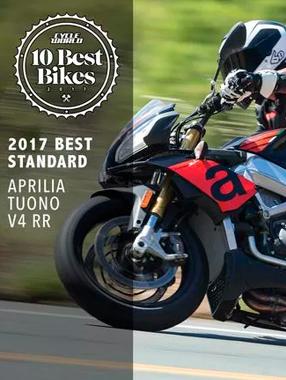 Aprilia вошел в 10-ку лучших мотоциклов 2017