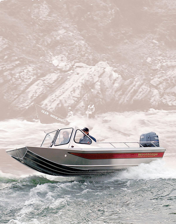 катера из канады для рыбалки из алюминия